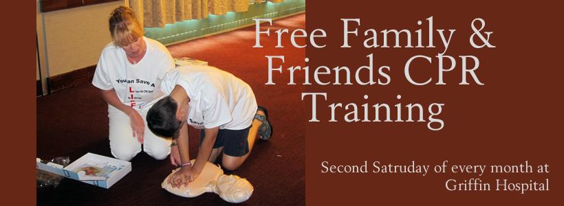 Griffin Hospital Offer Free Friends & Family CPR Training