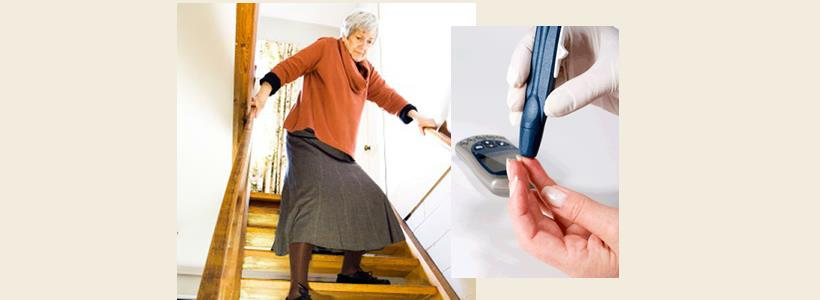 Learn about Diabetes and Fall Prevention March 10