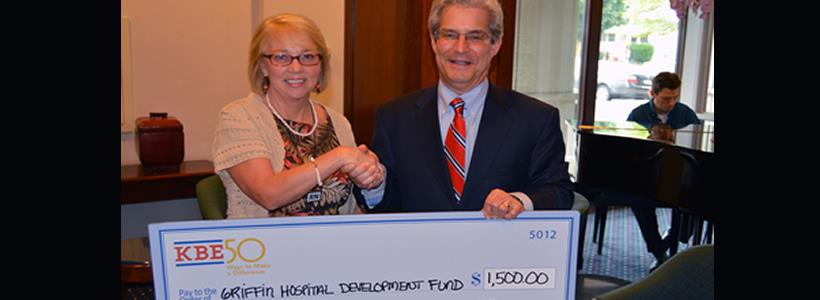Griffin Hospital Receives Make a Difference Grant
