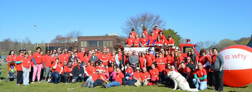 Griffin Hospital Participates in American Heart Association Heart Walk