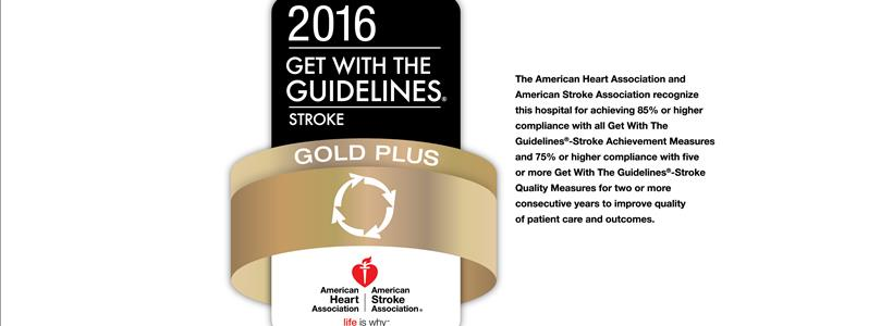 American Heart Association Award Recognizes Griffin Hospital for Commitment to Quality Stroke Care