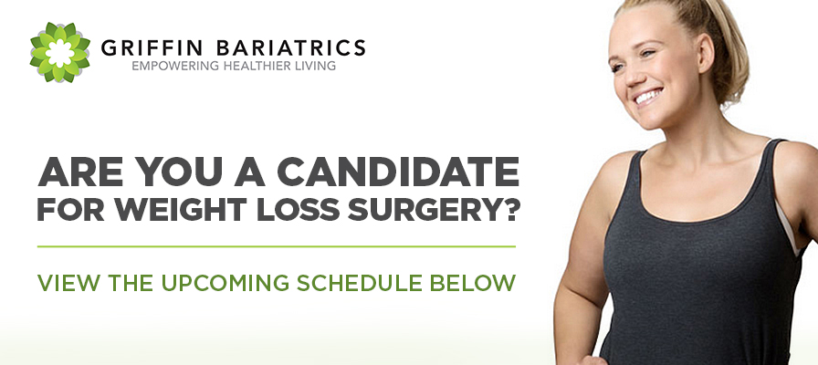 Griffin Bariatrics - You can change your life. Learn how. Register for a FREE seminar.