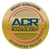 American College of Radiology (ACR) Breast Ultrasound Accredited Facility Seal