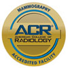 American College of Radiology (ACR) Mammography Accredited Facility Seal